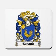 Renaud Family Crest Mousepad