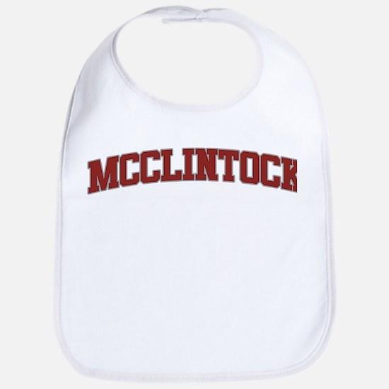 MCCLINTOCK Design Bib
