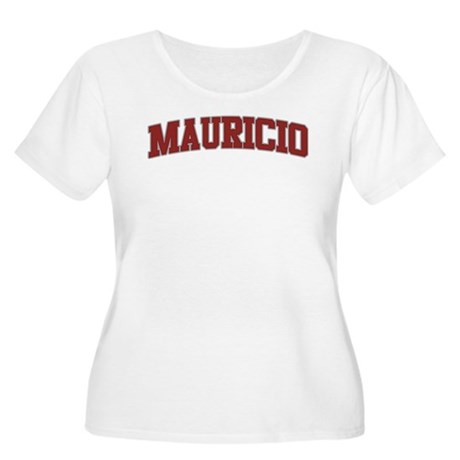 MAURICIO Design Women's Plus Size Scoop Neck T-Shi