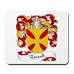 Renault Family Crest Mousepad