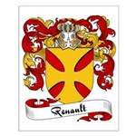 Renault Family Crest Small Poster