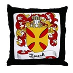 Renault Family Crest Throw Pillow