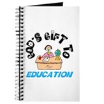 God's Gift to Education 2 Journal