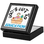 God's Gift to Education 2 Keepsake Box