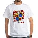 Rey Family Crest White T-Shirt