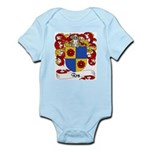 Rey Family Crest Infant Creeper