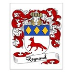 Reynaud Family Crest Small Poster