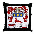 Reynaud Family Crest Throw Pillow