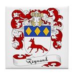 Reynaud Family Crest Tile Coaster