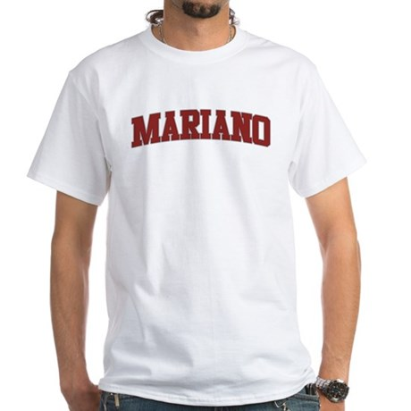 MARIANO Design White T-Shirt