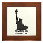 Annie Moore 2 Framed Tile