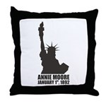 Annie Moore 2 Throw Pillow
