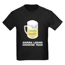 Sierra Leone Drinking Team T