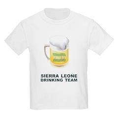 Sierra Leone Drinking Team T-Shirt