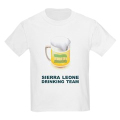 Sierra Leone Drinking Team T-Shirt