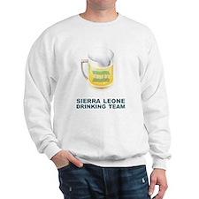 Sierra Leone Drinking Team Sweatshirt