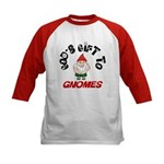 God's Gift to Gnomes Kids Baseball Jersey