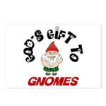 God's Gift to Gnomes Postcards (Package of 8)