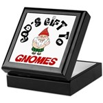 God's Gift to Gnomes Keepsake Box