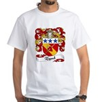Rigaud Family Crest White T-Shirt
