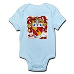 Rigaud Family Crest Infant Creeper