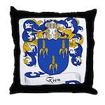 Riou Family Crest Throw Pillow
