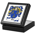 Riou Family Crest Keepsake Box
