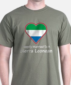 Happily Married Sierra Leonean T-Shirt