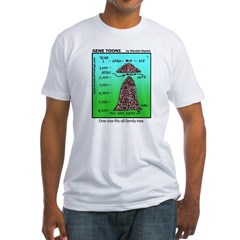 #1 Fits-all family tree Fitted T-Shirt