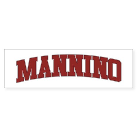 MANNINO Design Bumper Sticker