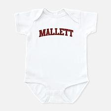 MALLETT Design Infant Bodysuit