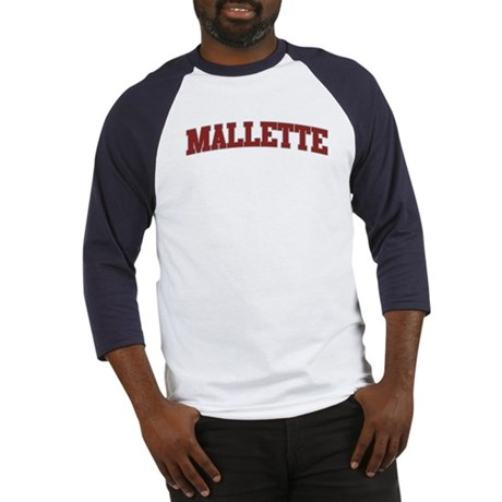 MALLETTE Design Baseball Jersey