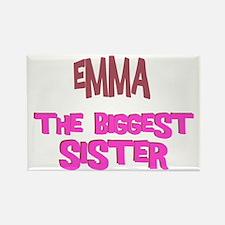 Emma - The Biggest Sister Rectangle Magnet