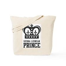 Sierra Leonean Prince Tote Bag