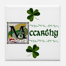 McCarthy Celtic Dragon Ceramic Tile
