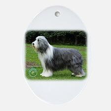 Bearded Collie 8R002D-16 Ornament (Oval)