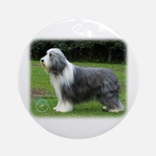 Bearded Collie 8R002D-16 Ornament (Round)