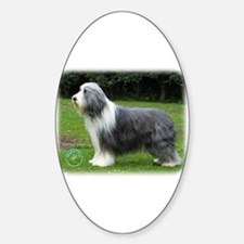 Bearded Collie 8R002D-16 Sticker (Oval)