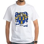 Roque Family Crest White T-Shirt