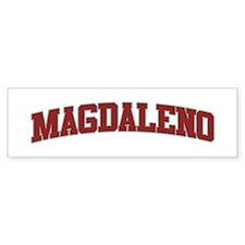 MAGDALENO Design Bumper Sticker
