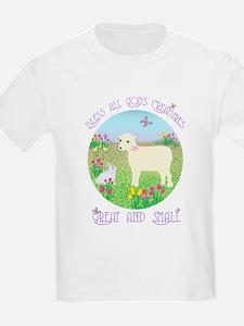 Bless All God's Creatures Kids T-Shirt