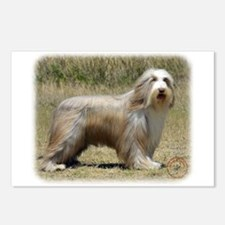 Bearded Collie 9P042D-005 Postcards (Package of 8)
