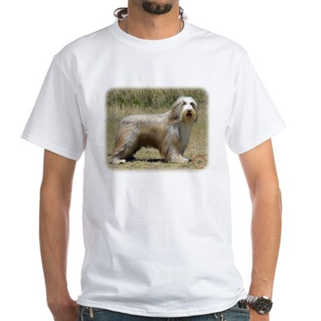 Bearded Collie 9P042D-005 White T-Shirt