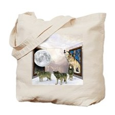 Room of Wolves Tote Bag