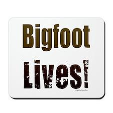 Bigfoot lives! Mousepad