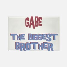 Gabe - The Biggest Brother Rectangle Magnet
