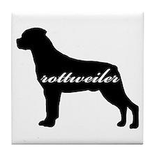Rottweiler DESIGN Tile Coaster