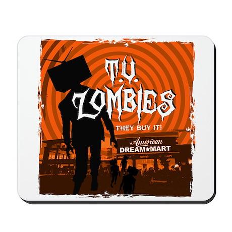 T.V. Zombies Mousepad