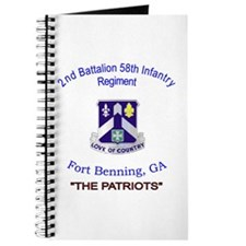 Cute 2nd battalion Journal