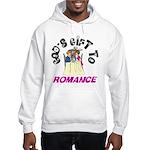 God's Gift to Romance Hooded Sweatshirt